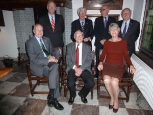 College van regenten 2015. vlnr D.A. van den Wall Bake (regent/secretaris-penningmeester), F.A. Tielens, W.J.H. Verwers (voorzitter 2015), F.K.A. Fokkema, G.W. van Hoogevest (voorzitter 2014), G. Perrick (vice-voorzitter 2015), A.J. de Jonge.