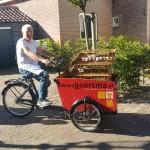 Cor met Boersma's bakkerskar