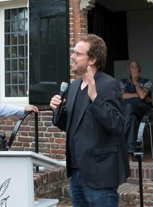 Leo Erken, zilveren camerawinnaar, filmmaker en docent Foto Hans Niezen