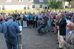 Applaus voor Willem Wernsen foto Hans Niezen