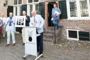 Veilingmeester Jan Willem van Lieshout Foto Hans Niezen